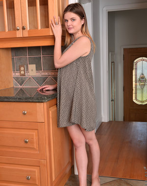 Newcomer Charlotte Rose is a fresh faced teen.. Pics